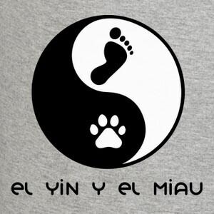 Tee-shirts le yin et le miaulement