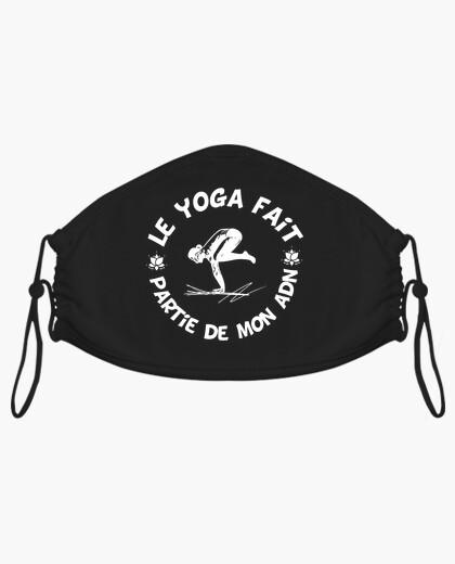 Mascarilla el yoga es parte de mi adn...