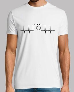 Electrocardiograma Camara Fotos negro