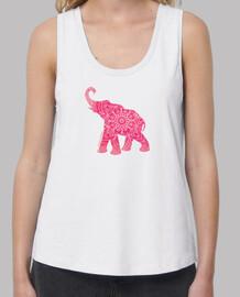 elefante arrosa-elefante rosa