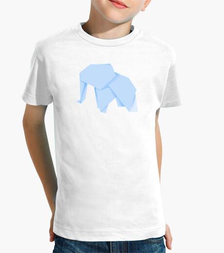 Ropa infantil Elefante azul. Aplícalo sobre diferentes colores de camiseta de niño