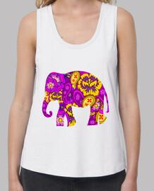 elefante floreale