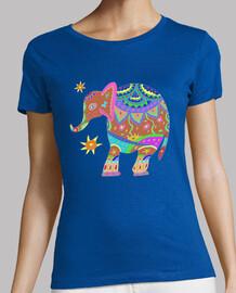 Elefante hippie