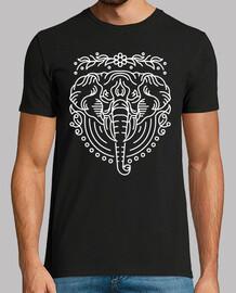 elefante líneas 2