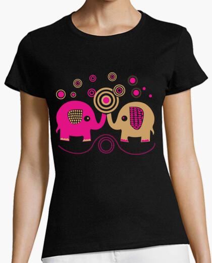 Camiseta Elefantes Pareja