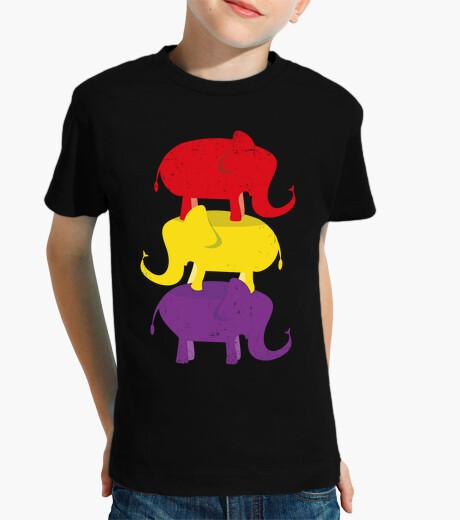 Ropa infantil Elefantes Republicanos Desgastada (Niño)