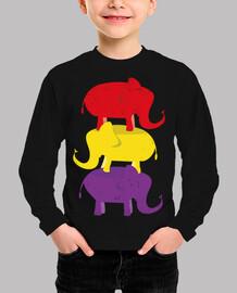 Elefantes Republicanos Desgastada (Niño)