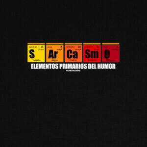 T-shirt elementos primarios del humor