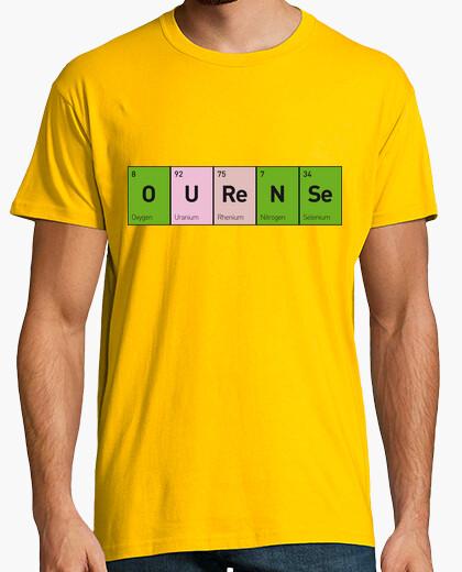 Tee-shirt éléments ourense