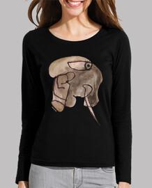elephant - shirt fille ml