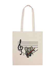 Elephant bassoonist