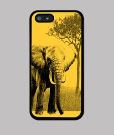 éléphant cas en afrique