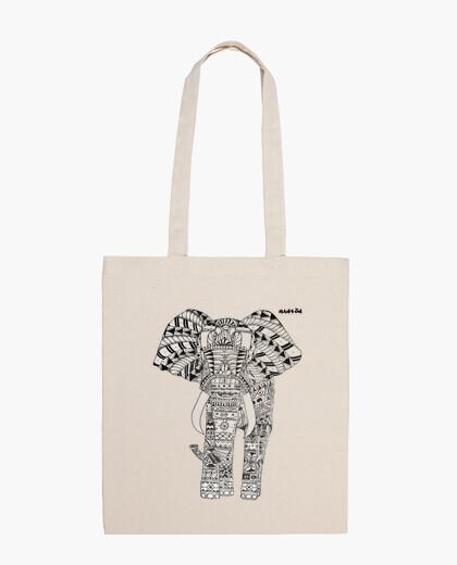 Borsa elephant chiaro sacchetto di sfondo