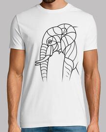 éléphant minimaliste