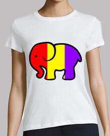 éléphant républicain t-shirt  femme