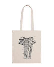 elephant sac léger fond