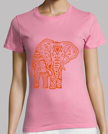 Éléphant stamkid  tee shirt  fille