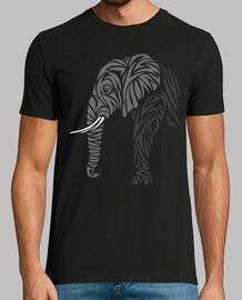 éléphant tribal