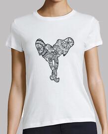 éléphants chemise couple, femme