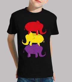 éléphants usés républicains (enfants)