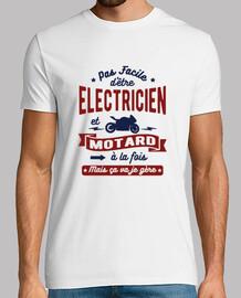 elettricista e motociclista