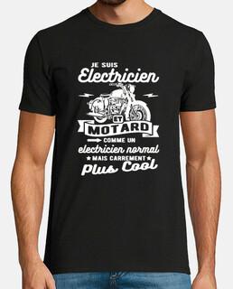 elettricista e motociclista umorismo