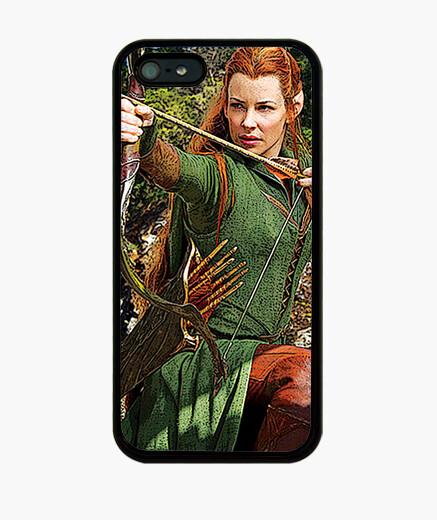 Funda iPhone Elfa bosque negro Tauriel