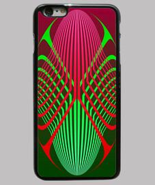 elipses rojas y verdes - iphone