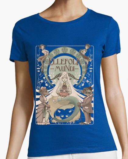 Ellefolk mundi t-shirt