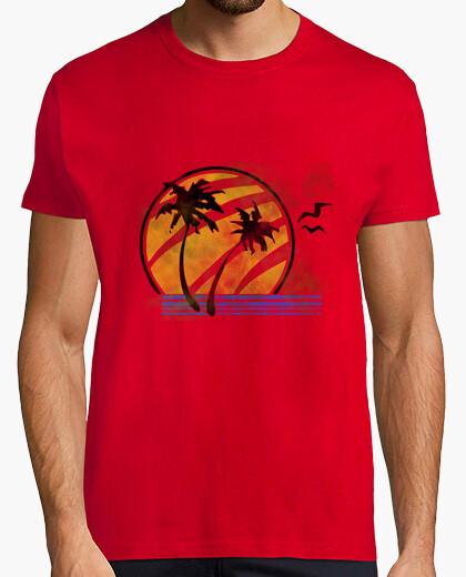 Tee-shirt ellie -camiseta de  homme  rouge