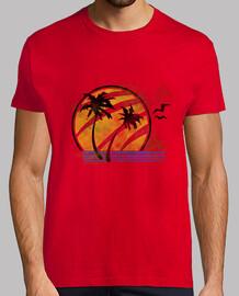 ellie -camiseta de  homme  rouge