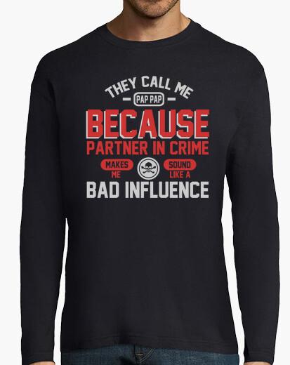 Camiseta ellos me llaman pap pap