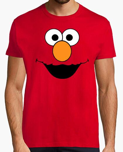 Elmo Barrio Sesamo  camisetas frikis friki
