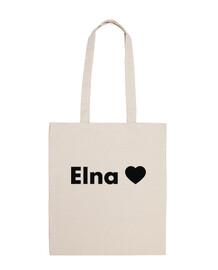 Elna Elne Gràcies- Totebag 100% cotó estampat negre