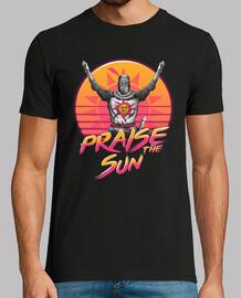 elogie la puesta de sol ola camisa para hombre