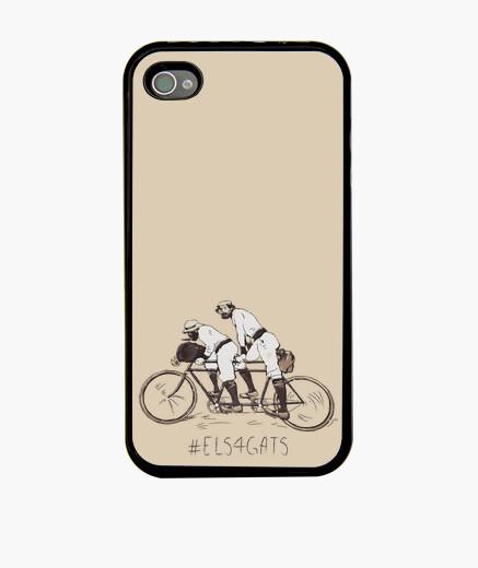 Els 4 Gats - Funda iPhone 4