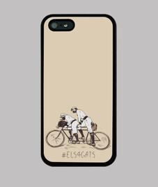 Els 4 Gats - Funda iPhone 5 / 5s