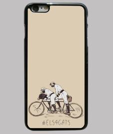 Els 4 Gats - Funda iPhone 6 Plus