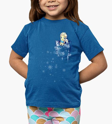 Ropa infantil Elsa pocket