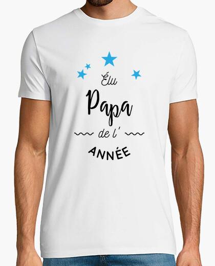 Tee-shirt Elu papa de l'année