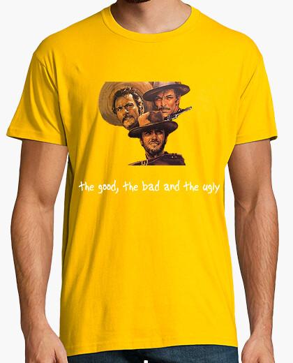Camiseta Elvideoclubdelos80s - El bueno, el feo y el malo