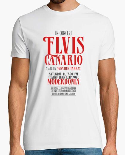 Tee-shirt Elvis Canario, Ignatius Farray - La Vida
