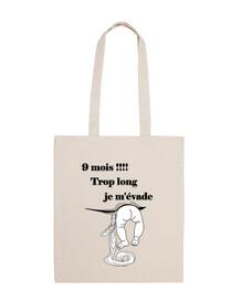 embarazo bolsa de hombro 100 de algodón