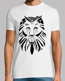 emblema del leonee nero