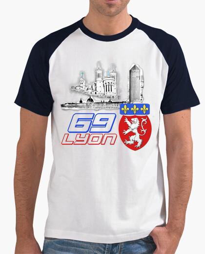Tee-shirt Emblème, armoirie, blason ville Lyon Rhône