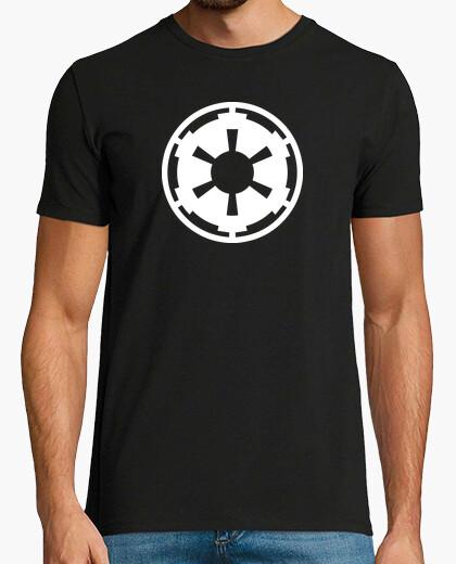 Tee-shirt emblème blanc impérial