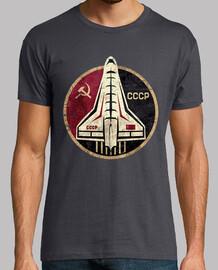emblème circulaire navette spatiale cccp
