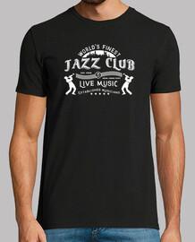 emblème de club de jazz de style rétro