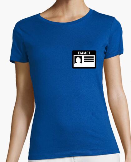 Emmets niñas nametag camiseta