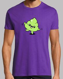 emoji caca  t-shirt